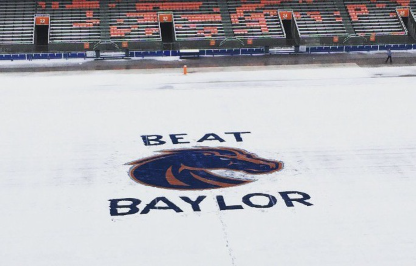 No Small Potatoes: Boise State hopes for more feathers in it's cap against Baylor